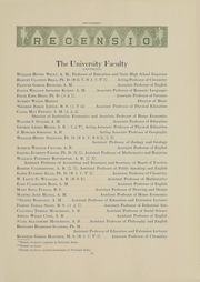 Page 15, 1918 Edition, Miami University - Recensio Yearbook (Oxford, OH) online yearbook collection