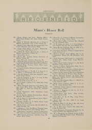 Page 24, 1918 Edition, Miami University - Recensio Yearbook (Oxford, OH) online yearbook collection