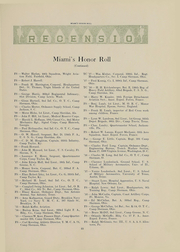 Page 25, 1918 Edition, Miami University - Recensio Yearbook (Oxford, OH) online yearbook collection