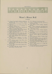 Page 28, 1918 Edition, Miami University - Recensio Yearbook (Oxford, OH) online yearbook collection