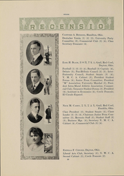 Page 32, 1918 Edition, Miami University - Recensio Yearbook (Oxford, OH) online yearbook collection