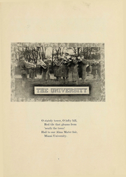 Page 9, 1918 Edition, Miami University - Recensio Yearbook (Oxford, OH) online yearbook collection