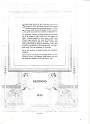 Page 13, 1925 Edition, Miami University - Recensio Yearbook (Oxford, OH) online yearbook collection