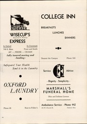 Page 289, 1937 Edition, Miami University - Recensio Yearbook (Oxford, OH) online yearbook collection