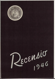 Page 1, 1946 Edition, Miami University - Recensio Yearbook (Oxford, OH) online yearbook collection