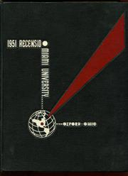 Page 1, 1951 Edition, Miami University - Recensio Yearbook (Oxford, OH) online yearbook collection