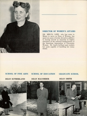 Page 13, 1951 Edition, Miami University - Recensio Yearbook (Oxford, OH) online yearbook collection