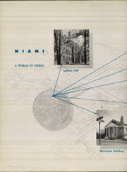 Page 6, 1951 Edition, Miami University - Recensio Yearbook (Oxford, OH) online yearbook collection