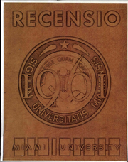 Page 1, 1961 Edition, Miami University - Recensio Yearbook (Oxford, OH) online yearbook collection
