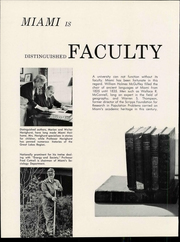 Page 12, 1961 Edition, Miami University - Recensio Yearbook (Oxford, OH) online yearbook collection