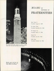 Page 14, 1961 Edition, Miami University - Recensio Yearbook (Oxford, OH) online yearbook collection