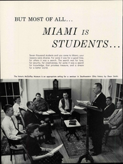 Page 16, 1961 Edition, Miami University - Recensio Yearbook (Oxford, OH) online yearbook collection