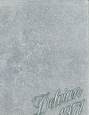 Page 1, 1971 Edition, Mississippi Valley State University - Delvian Yearbook (Itta Bena, MS) online yearbook collection