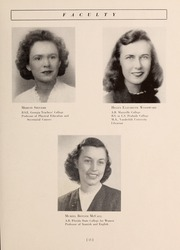 Page 17, 1945 Edition, Armstrong Atlantic State University - Geechee Yearbook (Savannah, GA) online yearbook collection