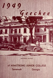 Page 11, 1949 Edition, Armstrong Atlantic State University - Geechee Yearbook (Savannah, GA) online yearbook collection