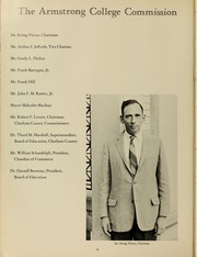 Page 14, 1964 Edition, Armstrong Atlantic State University - Geechee Yearbook (Savannah, GA) online yearbook collection