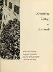 Page 7, 1964 Edition, Armstrong Atlantic State University - Geechee Yearbook (Savannah, GA) online yearbook collection