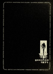 Armstrong Atlantic State University - Geechee Yearbook (Savannah, GA) online yearbook collection, 1971 Edition, Page 1