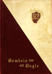 Page 1, 1892 Edition, Bowdoin College - Bugle Yearbook (Brunswick, ME) online yearbook collection