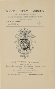 Page 3, 1892 Edition, Bowdoin College - Bugle Yearbook (Brunswick, ME) online yearbook collection