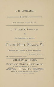 Page 5, 1892 Edition, Bowdoin College - Bugle Yearbook (Brunswick, ME) online yearbook collection