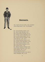 Page 11, 1902 Edition, Bowdoin College - Bugle Yearbook (Brunswick, ME) online yearbook collection
