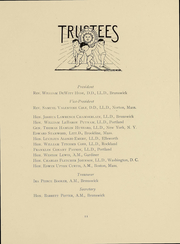 Page 13, 1914 Edition, Bowdoin College - Bugle Yearbook (Brunswick, ME) online yearbook collection