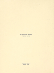 Page 5, 1914 Edition, Bowdoin College - Bugle Yearbook (Brunswick, ME) online yearbook collection
