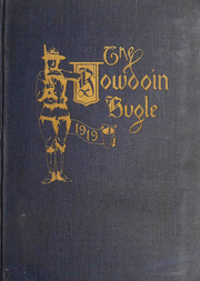 1919 Edition, Bowdoin College - Bugle Yearbook (Brunswick, ME)