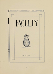 Page 13, 1923 Edition, Bowdoin College - Bugle Yearbook (Brunswick, ME) online yearbook collection