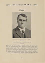 Page 14, 1923 Edition, Bowdoin College - Bugle Yearbook (Brunswick, ME) online yearbook collection