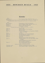 Page 9, 1923 Edition, Bowdoin College - Bugle Yearbook (Brunswick, ME) online yearbook collection
