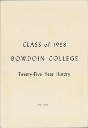 Page 5, 1928 Edition, Bowdoin College - Bugle Yearbook (Brunswick, ME) online yearbook collection