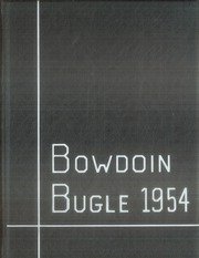 1954 Edition, Bowdoin College - Bugle Yearbook (Brunswick, ME)