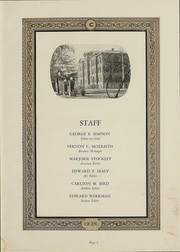 Page 6, 1926 Edition, Coe College - Acorn Yearbook (Cedar Rapids, IA) online yearbook collection
