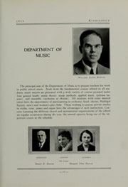 Page 17, 1933 Edition, Eastern Washington University - Kinnikinick Yearbook (Cheney, WA) online yearbook collection