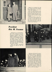 Page 12, 1952 Edition, Eastern Washington University - Kinnikinick Yearbook (Cheney, WA) online yearbook collection