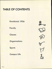 Page 12, 1956 Edition, Eastern Washington University - Kinnikinick Yearbook (Cheney, WA) online yearbook collection
