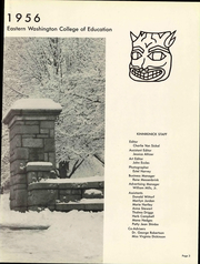 Page 9, 1956 Edition, Eastern Washington University - Kinnikinick Yearbook (Cheney, WA) online yearbook collection