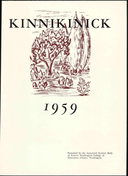 Page 7, 1959 Edition, Eastern Washington University - Kinnikinick Yearbook (Cheney, WA) online yearbook collection
