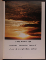 Page 5, 1969 Edition, Eastern Washington University - Kinnikinick Yearbook (Cheney, WA) online yearbook collection