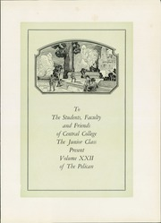 Page 7, 1930 Edition, Central College - Pelican Yearbook (Pella, IA) online yearbook collection