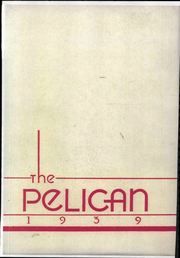 1939 Edition, Central College - Pelican Yearbook (Pella, IA)