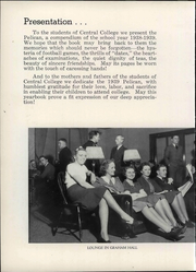 Page 10, 1939 Edition, Central College - Pelican Yearbook (Pella, IA) online yearbook collection