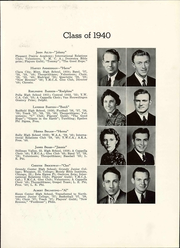 Page 17, 1940 Edition, Central College - Pelican Yearbook (Pella, IA) online yearbook collection