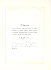 Page 6, 1923 Edition, Eastern Kentucky University - Milestone Yearbook (Richmond, KY) online yearbook collection