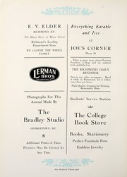 Page 142, 1930 Edition, Eastern Kentucky University - Milestone Yearbook (Richmond, KY) online yearbook collection