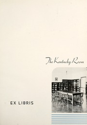 Page 5, 1936 Edition, Eastern Kentucky University - Milestone Yearbook (Richmond, KY) online yearbook collection