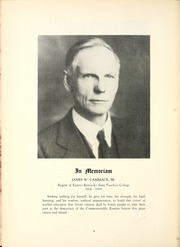 Page 12, 1939 Edition, Eastern Kentucky University - Milestone Yearbook (Richmond, KY) online yearbook collection