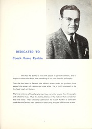 Page 9, 1940 Edition, Eastern Kentucky University - Milestone Yearbook (Richmond, KY) online yearbook collection